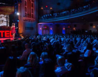 Ted talk podium