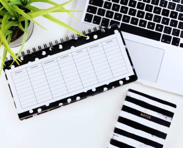 Gebrek aan planning, lege kalender