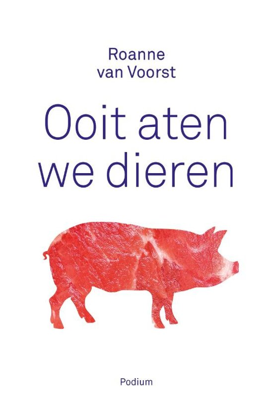 Boekcover: Ooit aten we dieren, boekentip van P-Plan