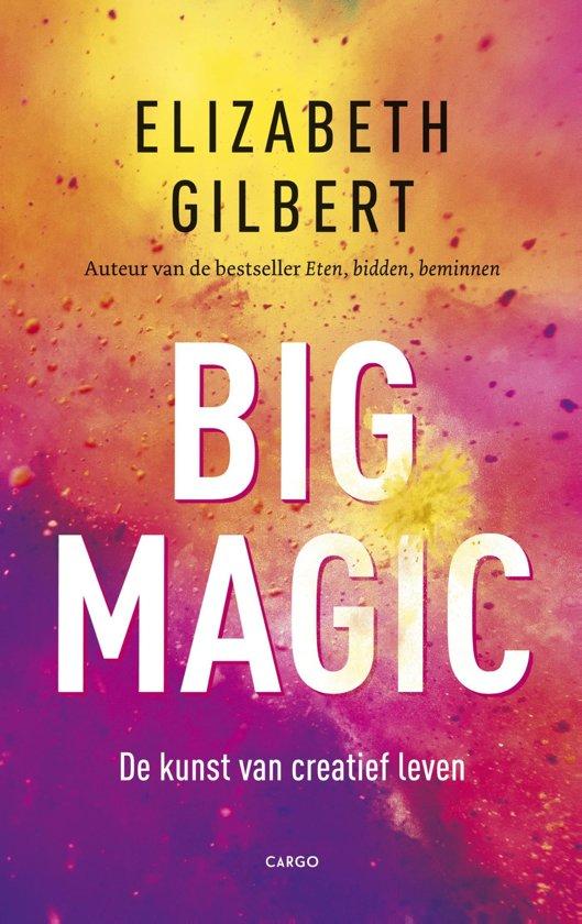 Boekcover: Big Magic, een van de boekentips van P-Plan