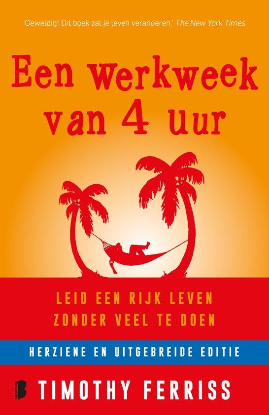 Boekcover: Een werkweek van 4 uur, een van de boekentips van P-Plan