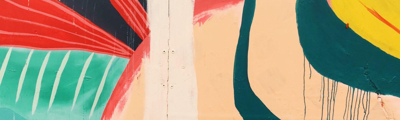 Sfeerbeeld van streetart