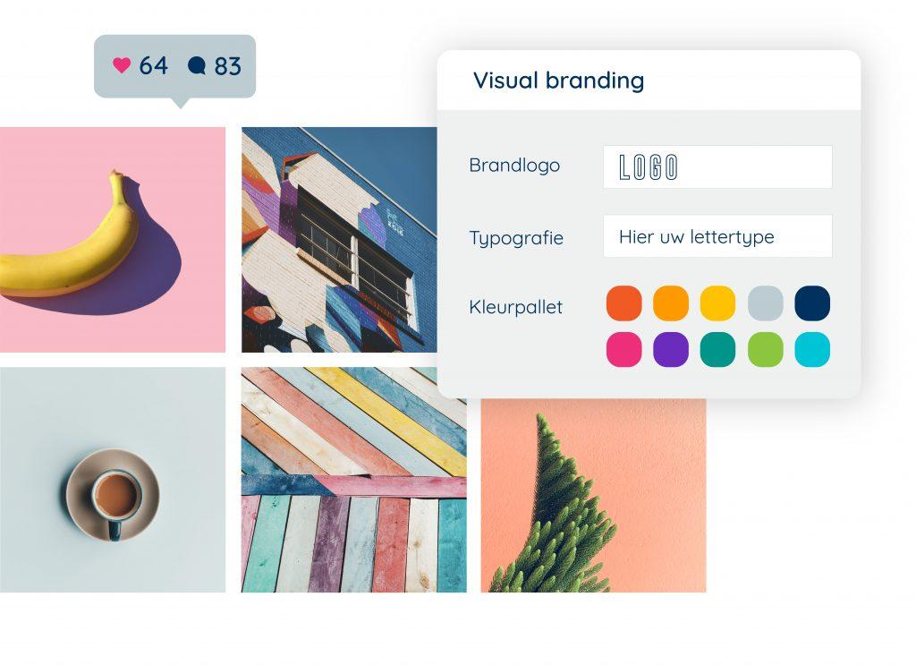 Designelementen selecteren voor een sterke visuele merkidentiteit